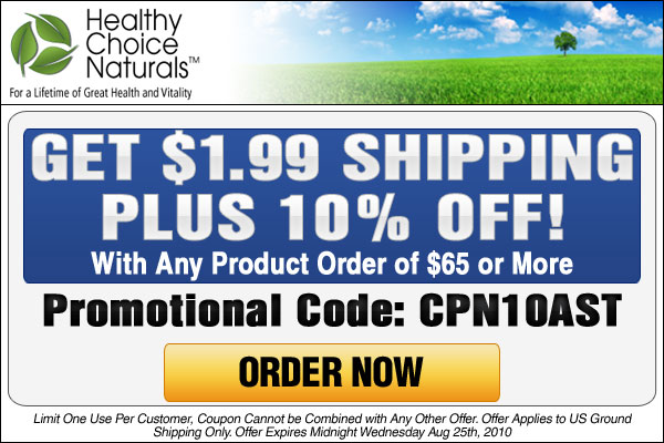 Great Savings at Healthy Choice Naturals