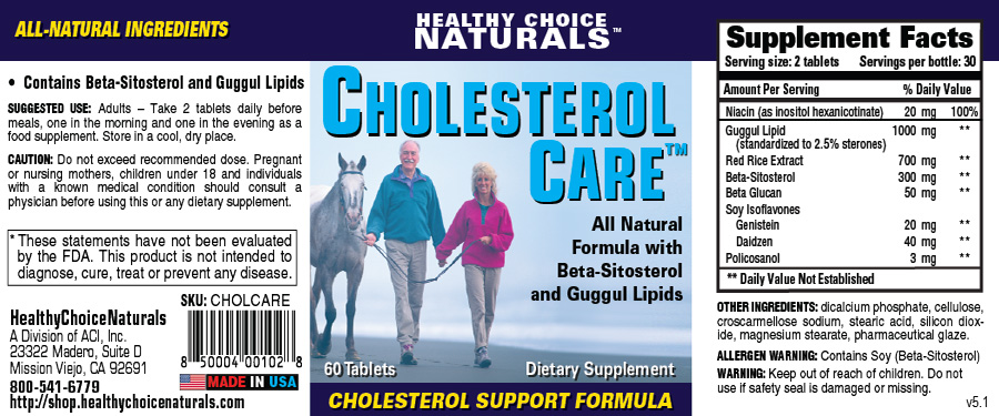 Cholesterol Care Supplements