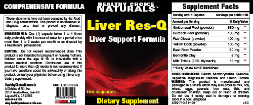 Liver Res-Q Supplement