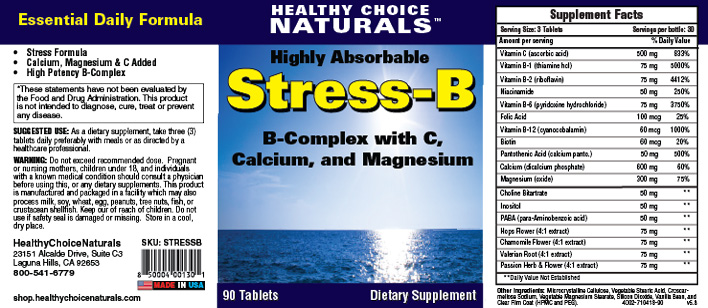 Stress B Complex Supplement