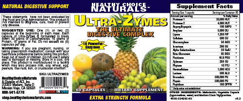 Ultrazymes Supplements