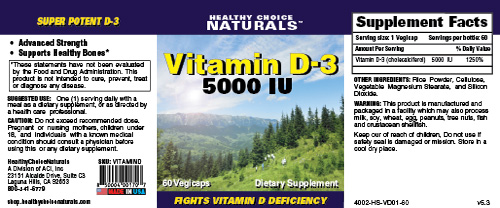 Vitamin D Complex Supplement