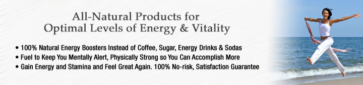 Buy energy supplements, energy vitamins at Healthy Choice Naturals