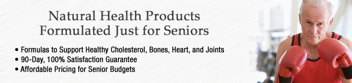 Buy senior's supplements, senior's vitamins at Healthy Choice Naturals