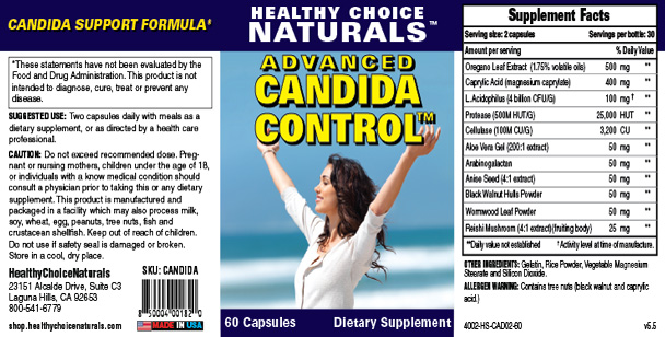Advanced Candida Control