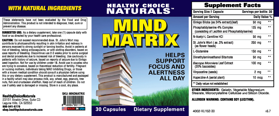 Mind Matrix Supplement