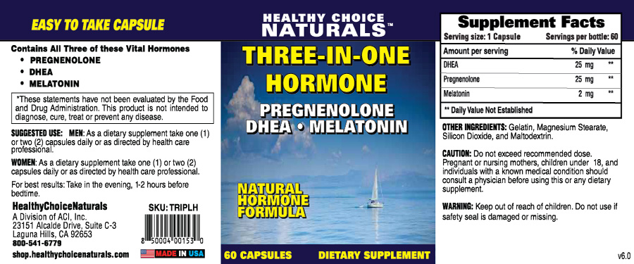 Triple Hormone Supplements