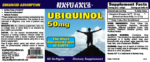 Ubiquinol CoQ10 Supplement