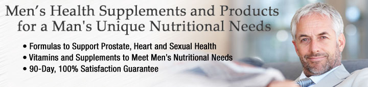Buy men's supplements, men's vitamins at Healthy Choice Naturals