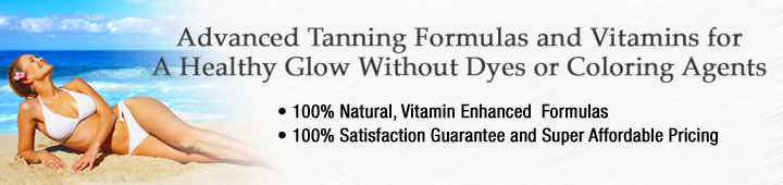 Buy tanning pills, sunless tanning products at Healthy Choice Naturals
